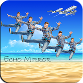 Magic Mirror Echo Image Editor and Text on Photo