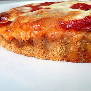 Eggplant Lasagna Tart with Parmesan-Basil Crust