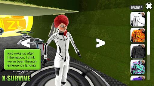 X Survive: Crafting & Building Sandbox Arcade  captures d'u00e9cran 2