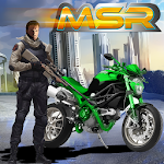 Moto Street Racer Fighter Icon