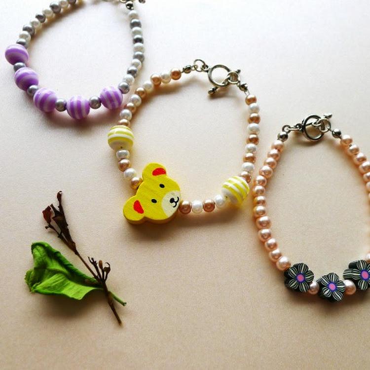 Summer Breeze Series- Bracelets for children by Heavenly Gems
