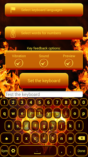 Fire Soul Keyboard Customizer