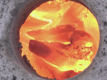 Heating up the foundry to a bright yellow flame.