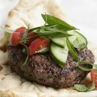 Cilantro Beef Burgers.