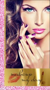 Makeup Styles Photo Montage: Virtual Beauty Salon - náhled