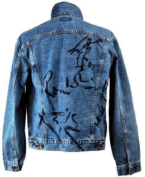 Photo: Win this trucker jacket autographed by non other than the Rolling Stones!  Make your bid > http://www.ebay.com/itm/Levis-501-Jean-Jacket-Signed-Rolling-Stones-Mick-Jagger-Keith-Richards-Ronni-/120921279919?pt=US_CSA_MC_Outerwear&hash=item1c27784daf#ht_500wt_1413