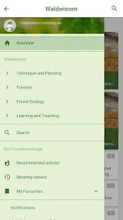 waldwissen.net - RSS reader- screenshot thumbnail
