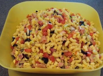 Donna's Macaroni Salad Recipe