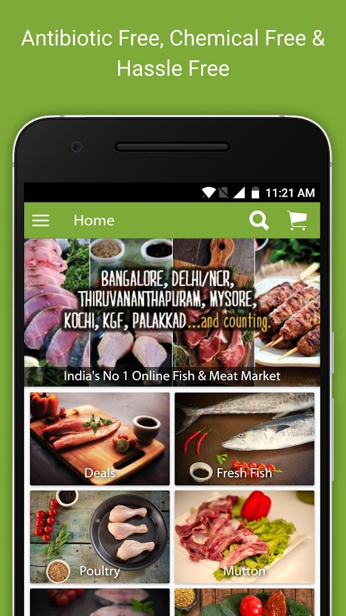 Fresh To Home Fresh Fish Meat Android Apps On Google Play