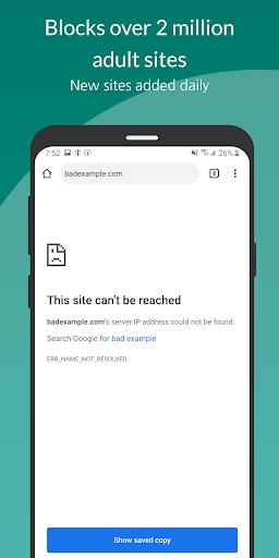 Free Porn Filter / Blocker 0.0.10 screenshots 1