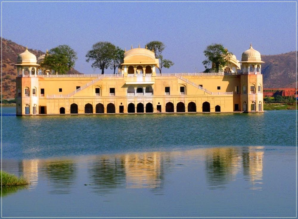 Jal Mahal, o palácio da água da Índia