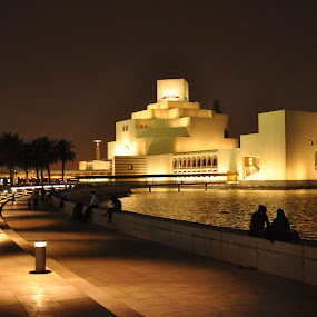 Museum of Islamic Art on the Doha waterfront by Sarita Jithin - Buildings & Architecture Public & Historical