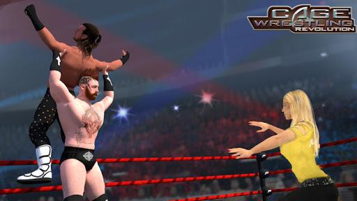 Wrestling Cage Revolution : Wrestling Games 2.3 screenshots 1