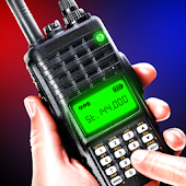 Walkie talkie polisradio
