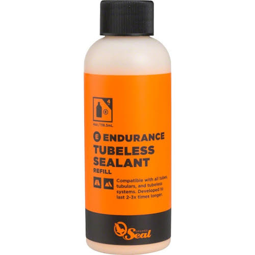 Orange Seal Endurance Tubeless Sealant, 4oz refill