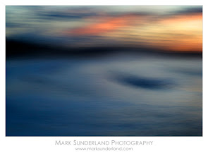 Photo: #SunsetSaturday  Whitby Sunset  My inspiration for my Seascapes series of images has been contemporary seascape painting rather than photography. I love the simplicity of images which are just made up of layers of blue - sea and sky punctuated by clouds and waves and the light interacting with these elements. Working digitally and experimenting with camera movement along with the movement of the waves I have tried to create similar images of the sea photographically. The camera settings became less important than usual in this process, with the speed and shape of the camera movement having more impact on the final image, like the brush strokes of the paintings that I admire.  Canon EOS 5D, 70-200mm, ISO 50, 3.2s at f32