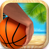 Beach Basketball Shooting King
