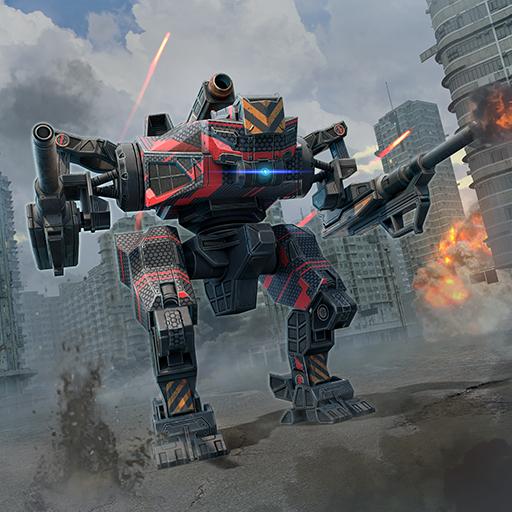 WWR: Perang robot permainan 3D