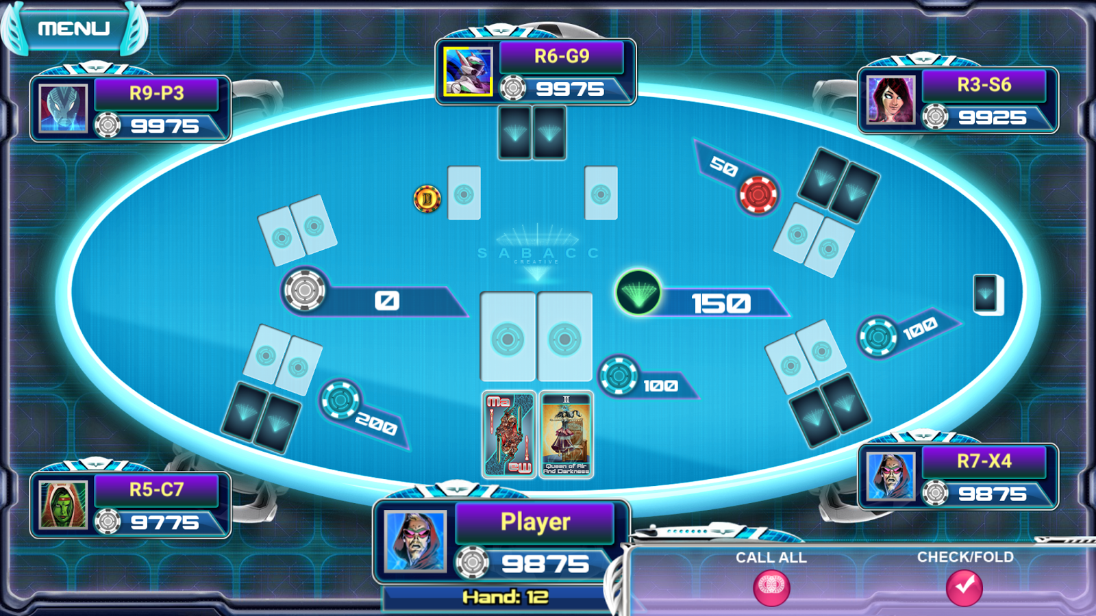 Sabacc - High Stakes Card Game- screenshot