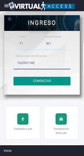 Virtual Access - Reception screenshot 1