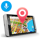 Navigation, Maps & Direction With Voice Navigation icon