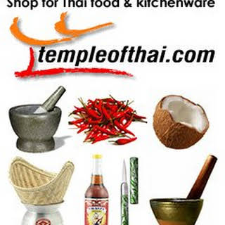 Vegetarian Thai Recipe for Tom Yum Soup with Roasted Chili Paste.