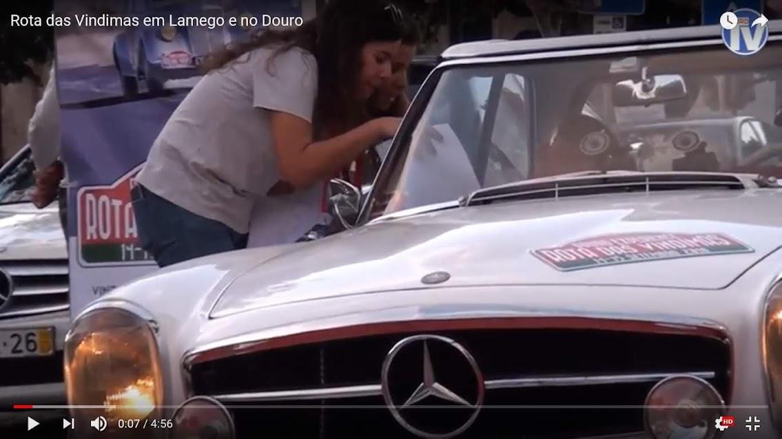 Vídeo - Rota das Vindimas em Lamego e no Douro