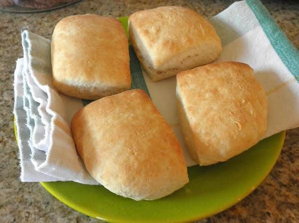 Nothing Quite Compares With Hot Biscuits Right Out Of The Oven......butter 'em While They're Hot!