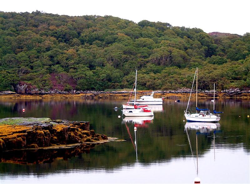 Photo: Loch Sheildaig (1 mle S of Gairloch) moorings.