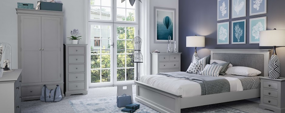 Sterling painted bedroom collection