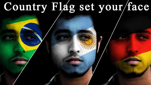 Flag Face App 2019 - Flag on Profile Picture 1.10 screenshots 1