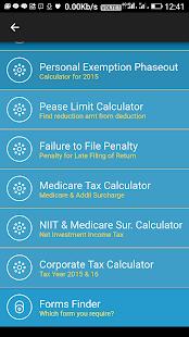 US Tax & Finance Calculators - náhled