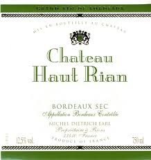 Logo for Chateau Haut-Rian