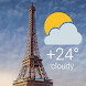 Paris Weather Live Wallpaper パリ天気ライブ壁紙 - Androidアプリ
