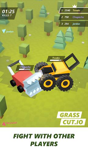 Grass cut.io - survive & become the last lawnmower 1.7 screenshots 1