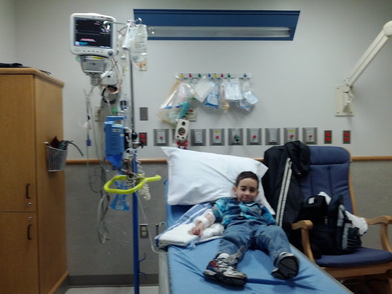 Photo: Domenic - Just after the infusion started
