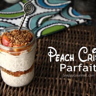 Peach Crisp Parfait
