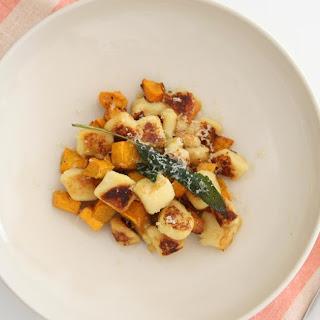 Gnocchi with Roast Pumpkin and Sage