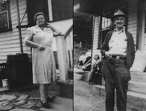 Photo: Tante Marie (Mia) Halgren and Peter Halgren, Rowlands PA