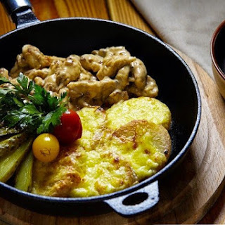 Fricassee Of Chicken With Potatoes