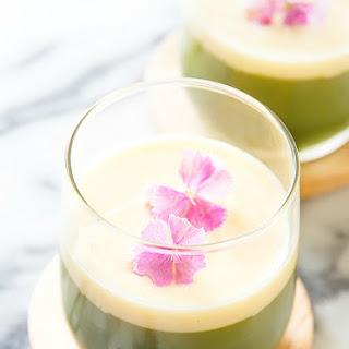 Matcha Green Tea Jelly.