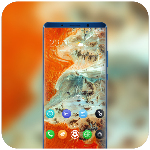 Theme for htc desire626G plus Dual SIM landform icon