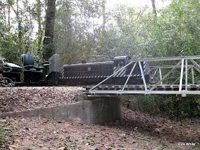 Photo: ATSF 2099 and its train.    SWLS at HALS 2009-1107