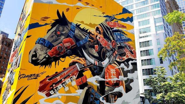 WTC street art by Dragon76
