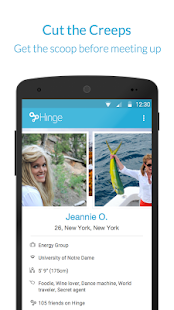 Hinge- screenshot thumbnail