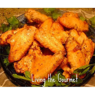 Oven Baked Marinated Chicken Wings