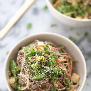 Vegan Sesame Noodle Bowl