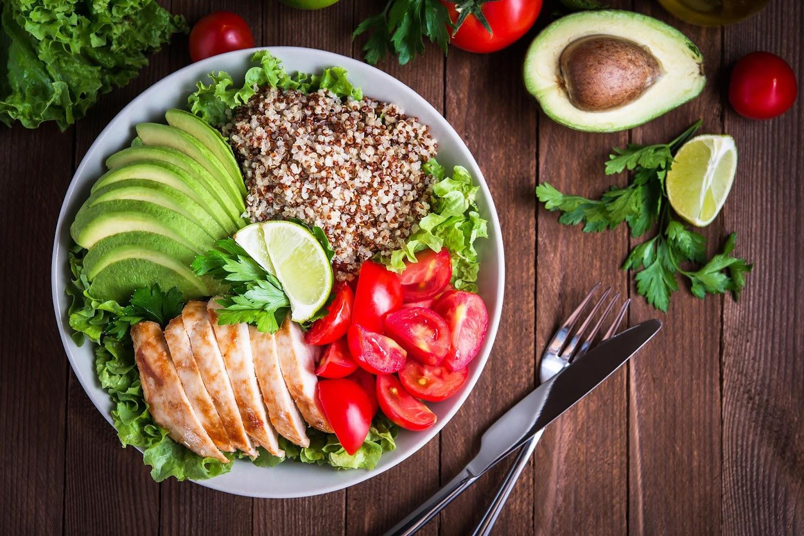 chế độ ăn kiêng