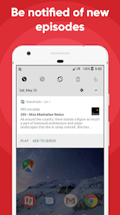 RadioPublic: Free Podcast App For Android- screenshot thumbnail