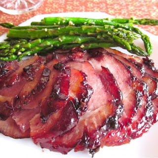 Raspberry Chipotle Glazed Ham